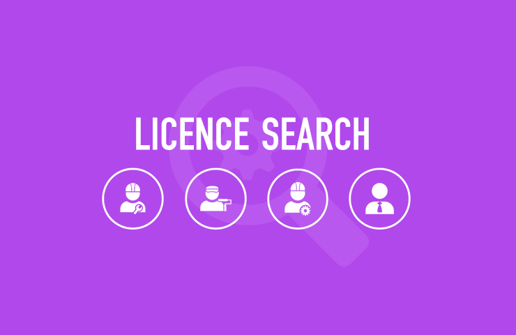EnergySafety licence search