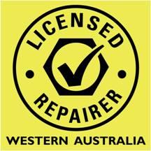 Licensed repairer logo