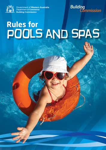 Rules for pools and spas