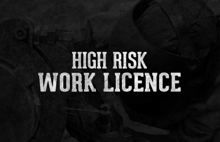 WorkSafe High Risk Work Licence