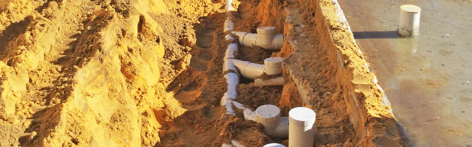 Drainage plumbing diagrams