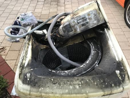 Washing machine fire Armadale2 - supplied by DFES