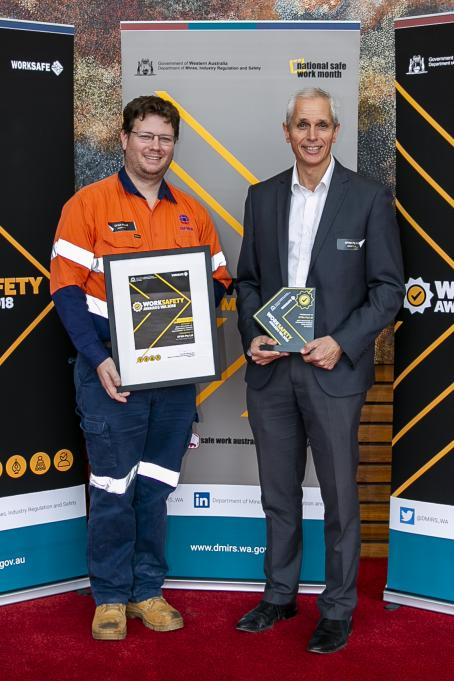 GFWA - Winners of Category 4, Best initiative to encourage worker engagement in safety