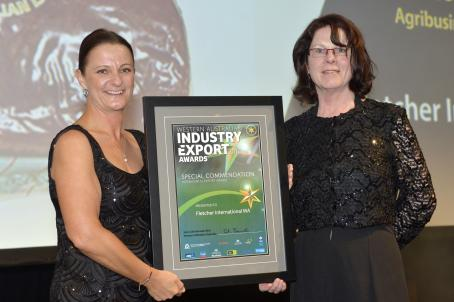 Agribusiness Award Special Commendation - Fletcher International