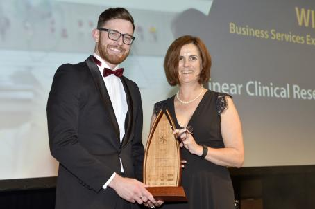 Business Services Export Award - Linear Clinical Reserach Ltd