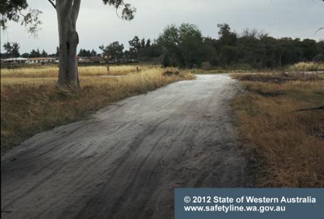 Castledare Perth asbestos roadway