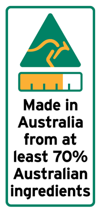 Country of origin label - small