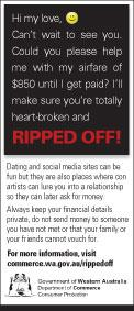 Ripped off: Dating