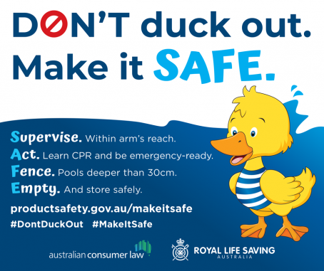 Don't Duck Out, Make it SAFE