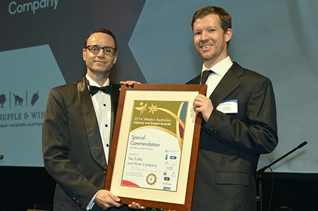 Small Business Export Award - special commendation