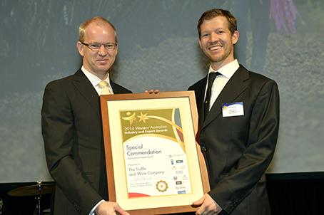 Agribusiness Export Award - special commendation