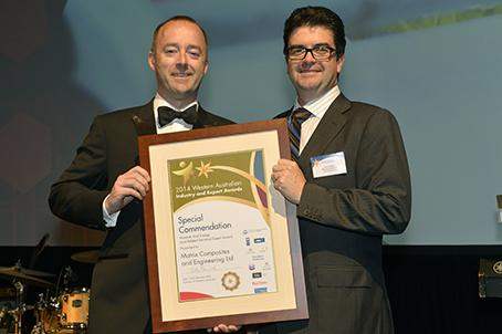 Minerals & Energy Export Award - special commendation