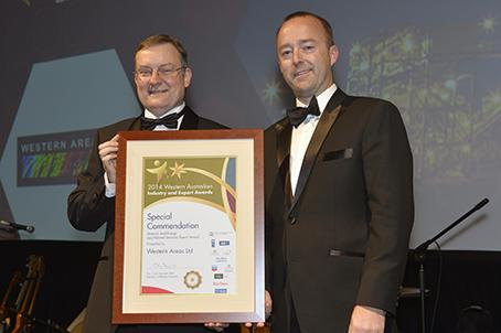 Minerals & Energy Export Award - special commendation 2