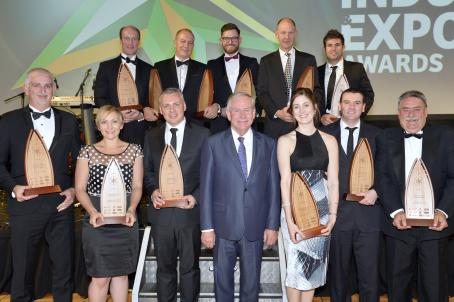 2016 Industry & Export Awards group photo