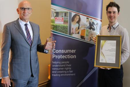 Callum Hunter Ruby Hutchison Media Award Winner Consumer Protection Awards 2020