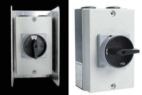 Salzer DC isolating switches