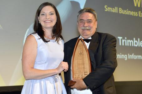 Small Business Export Award - Trimble Mining