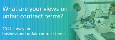 Unfair contract terms review 2014
