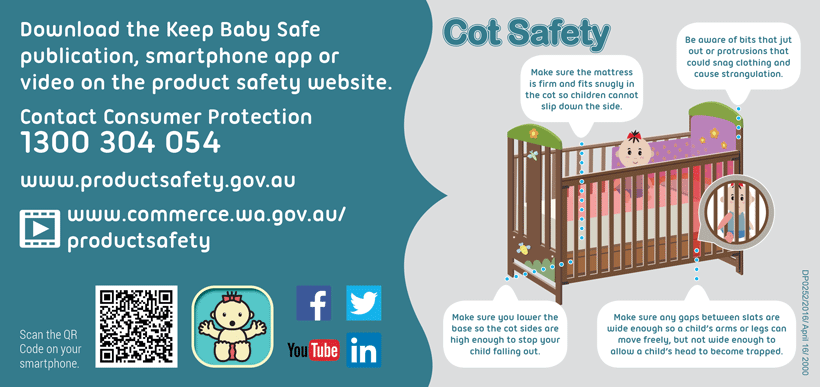 Cot safety flyer - detailed