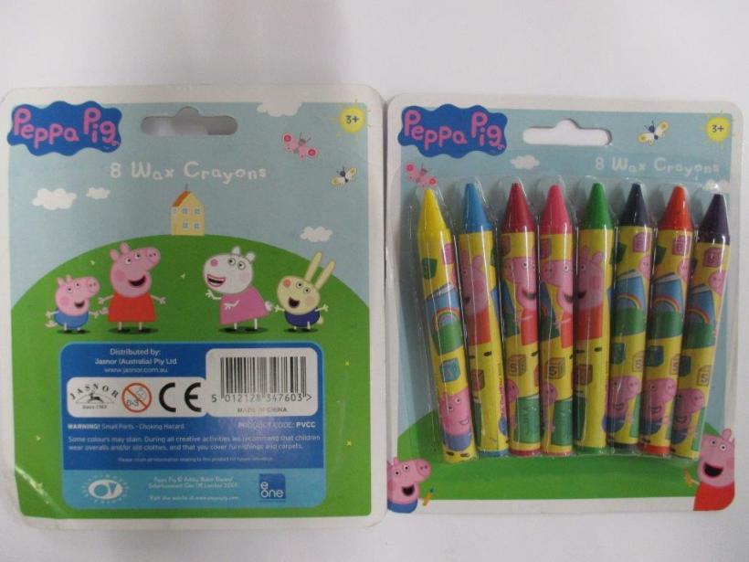 Peppa Pig 8 wax crayons pack